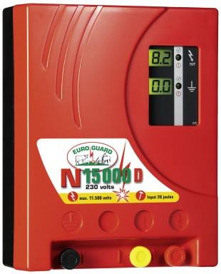 Elektrický ohradník síťový EURO GUARD N15000 D s automat.regulací 20/14,5J
