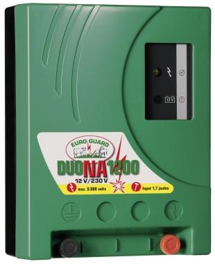Elektrický ohradník kombi EURO GUARD Duo NA1200 1,7/1,2J