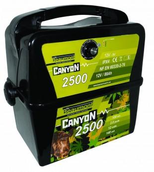 Elektrický ohradník BEAM CanyoN 2500 12V, 3 J