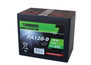Baterie pro ohradníky alkalická  9V/120Ah