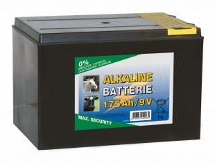 Baterie pro ohradníky alkalická  9V/175Ah