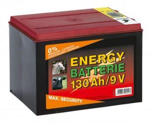 Baterie pro ohradníky zinko-karbonová  9V/130Ah