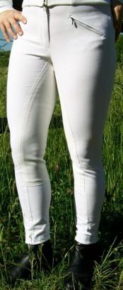Jezdecké rajtky CEASAR bílé