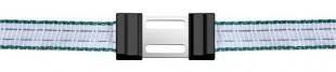 Spona pro ohradníkové pásky Litzclip® nerez