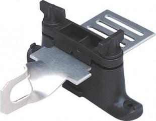 Propojovací plech s očkem pro brány 40mm