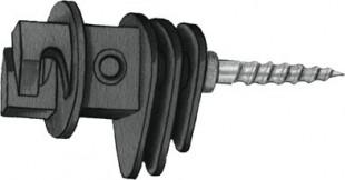 Izolátor ohradníku EURO s vrutem na provazy do 8mm (25)