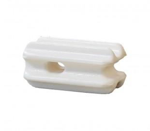 """Izolátor ohradníku rohový """"Vajíčko PA"""" bílý (4)"""
