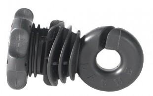 Izolátor ohradníku IVABLOC návlečný s matkou pro vodiče a pásky do 12mm (25)