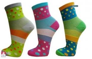 Ponožky PONDY Crazy dámské