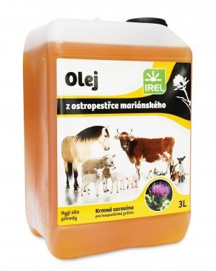 IREL Ostropestřcový olej