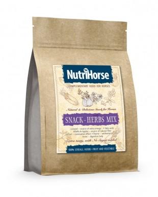 NutriHorse Snack bylinky 600g