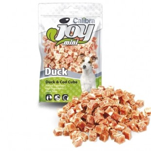 CALIBRA Joy Dog Mini Duck and Cod Cube masový pamlsek 70 g NEW