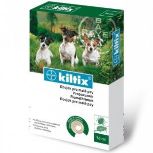 Obojek antiparazitický BAYER Kiltix 38 pro malé psy