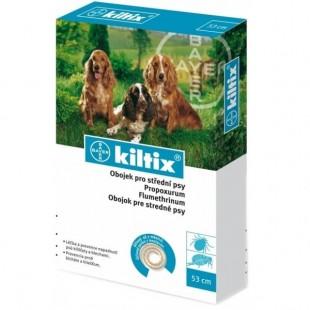 Obojek antiparazitický BAYER Kiltix 53 pro střední psy