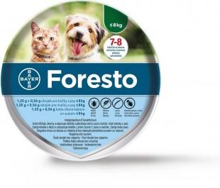Obojek antiparazitický BAYER Foresto 38 pro kočky a malé psy do 8 kg
