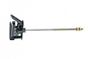 Izolátor klipový 20cm se závitem M6 na pásku do 40mm (10)