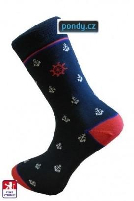 Ponožky PONDY Kotva designové