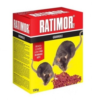 RATIMOR Plus granule150g v krabičce