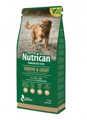NUTRICAN Light & Senior pro starší psy