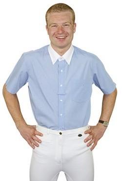Jezdecká košile HKM Freiburg krátký rukáv pánská