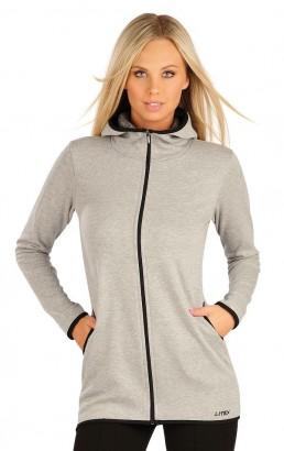 Mikina LITEX dámská s kapucí šedá