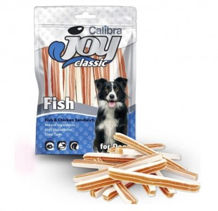 CALIBRA Joy Dog Classic Fish&Chicken Sandwich masový pamlsek 80 g NEW