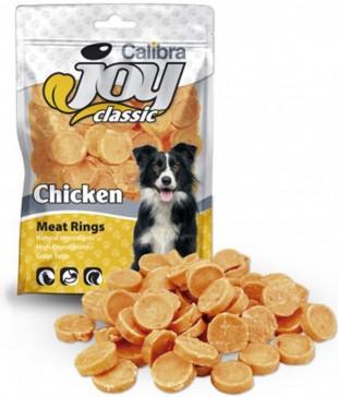 CALIBRA Joy Dog Classic Chicken Rings masový pamlsek 80 g NEW