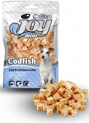 CALIBRA Joy Dog Mini Cod & Chicken Cube masový pamlsek 70 g NEW
