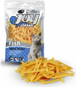 CALIBRA Joy Cat Classic Fish Strips masový pamlsek 70g NEW