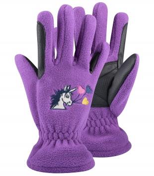 Jezdecké rukavice ELT dětské zimní Lucky Carla