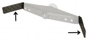 Náhradní plastové opěrky pro tyč HK 2020 - pár