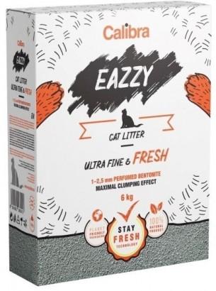 Calibra EAZZY Cat podestýlka Ultra Fine & Fresh 6 kg