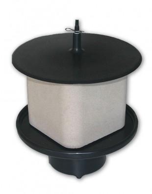 Držák lizu OK PLAST kruhový s víkem