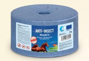 Anti Insect minerální liz pro koně a skot proti hmyzu 3 kg