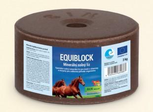 Equiblok minerální solný liz pro koně 3 kg