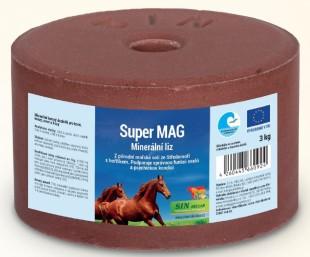 Super Mag minerální liz pro koně, skot a ovce s hořčíkem 3 kg