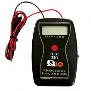 Tester ELLOFENCE ohradníkových 12V baterií