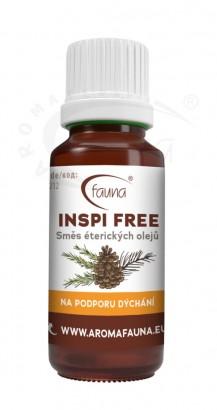 Desinfekční směs éterických olejů proti bakteriím a virům INSPI FREE
