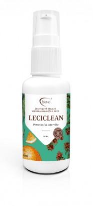 Lecitinová emulze s pomerančem LECICLEAN pro hygienu rukou