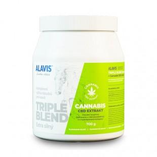 ALAVIS Triple Blend Extra silný + Cannabis CBD Extr. 700 g