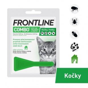 FRONTLINE COMBO spot-on pro kočky - 1x 0,5 ml