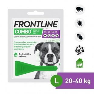 FRONTLINE COMBO spot-on pro psy L (20-40 kg)-1x2,68 ml