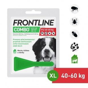 FRONTLINE COMBO spot-on pro psy XL (40-60 kg)-1x4,02 ml