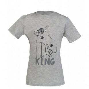 Dětské tričko HKM Gelato King šedé