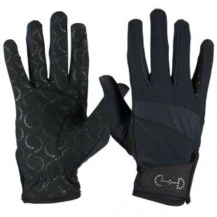 Jezdecké rukavice HORZE Crystal