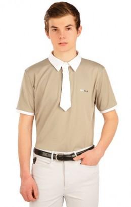 Polo triko LITEX pánské závodní s kravatou