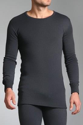 Triko thermo Heat Holders dlouhé rukávy šedé