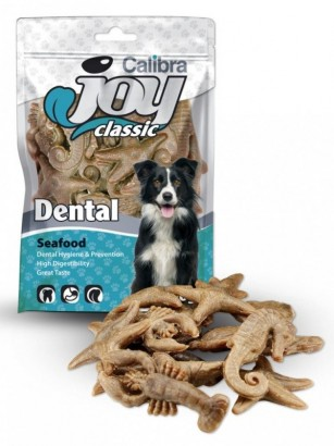 Calibra Joy Dog Classic Dental Sea Food dentální pamlsek 70 g NEW