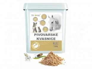 DROMY Pivovarské kvasnice pro koně a psy, 2000g