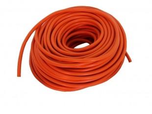 Kabel s dvojitou izolací pro vysoké napětí oranžový 50 m